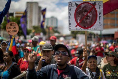 Chavismo conmemora en las calles estallido social y reitera respaldo a Maduro