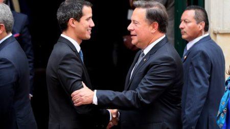 """Presidente de Panamá optimista de que """"muy pronto"""" habrá una Venezuela libre"""