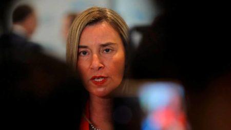 """La UE reitera que """"hay que evitar"""" una intervención militar en Venezuela"""