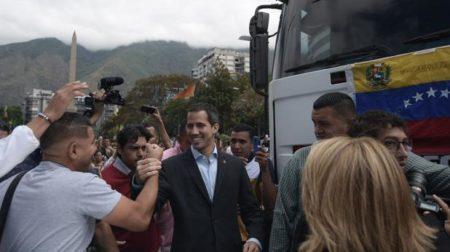 Guaidó sale mañana en caravana a frontera con Colombia por ayuda humanitaria