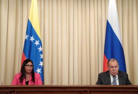 Lavrov no descarta una intervención militar de EEUU en Venezuela