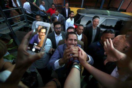 Guaidó reafirma que todas las opciones para Venezuela están en la mesa