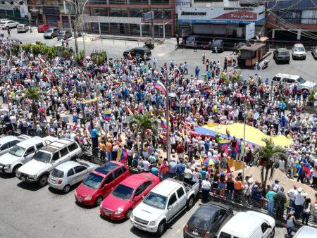 """Sanantoñeros trancaron por dos horas la Panamericana durante inicio de """"Operación Libertad"""""""