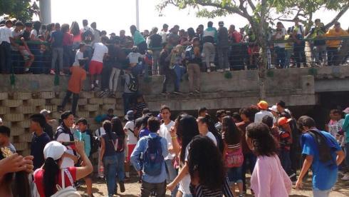 Tragedia en el concierto gratuito del rapero Neutro Shorty — Caracas