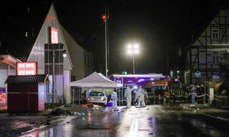 Alemania: Camioneta embiste a multitud en carnaval; hay 15 heridos