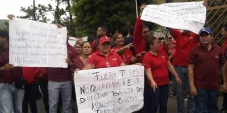 Protesta de farmaceuticos