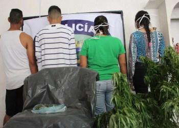 Los detenidos fueron llevados al comando policial y serán presentados al Ministerio Público
