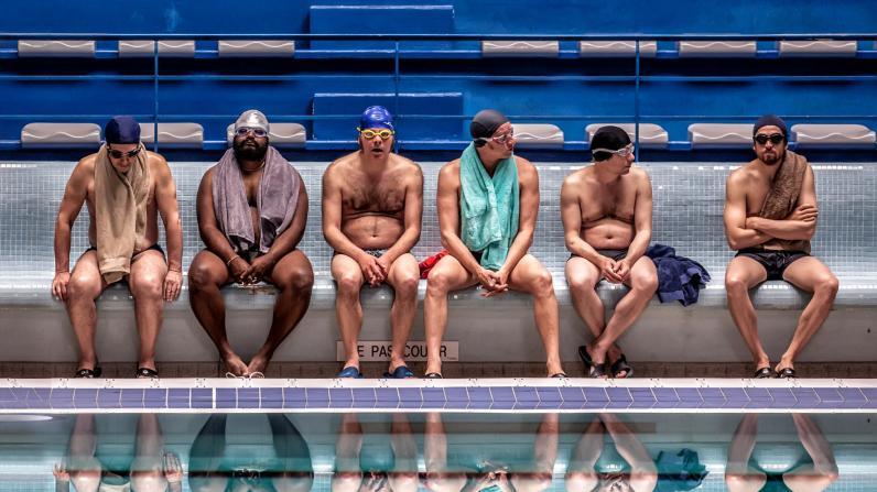 Hombres al agua