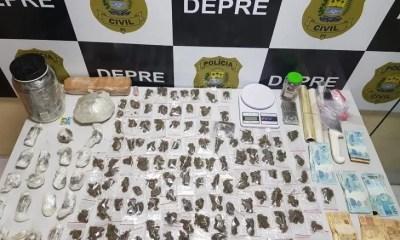 Polícia Civil prende homem acusado de traficar droga avaliada em R$ 250 mil