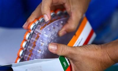Governo começa a distribuir de 3,2 milhões de doses da vacina contra covid-19