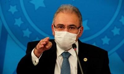 Queiroga não diz se concorda com Bolsonaro sobre cloroquina