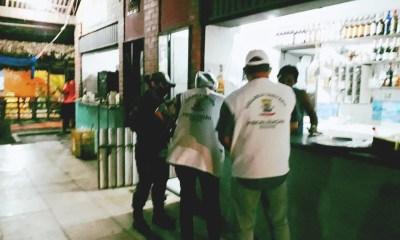Vigilância Sanitária autua 30 estabelecimentos por descumprir decreto contra a Covid-19