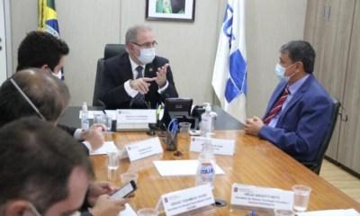 Ministro Marcelo Queiroga se reúne com Wellington Dias e concorda com o uso da Sputnik