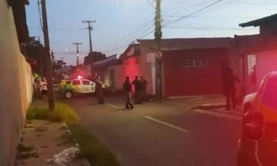 Policial é preso após efetuar disparo em via pública e atingir vizinho em Teresina