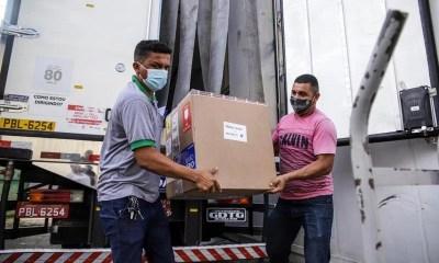 Piauí recebe mais 16,3 mil doses de vacinas da Pfizer