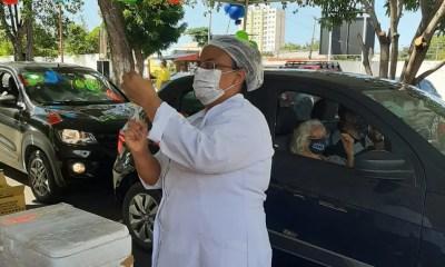 Fundação aumenta número de drive thru para vacinação contra a gripe