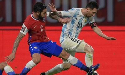 Argentina empata com o Chile em 1 a 1 nas Eliminatórias