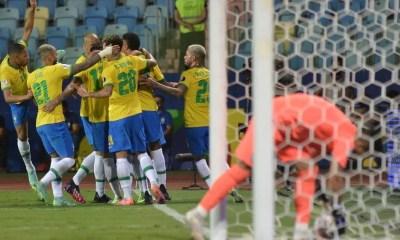 Brasil sofre só empata com o Equador pela Copa América