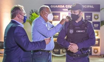 Dr. Pessoa empossa novo comandante da Guarda Municipal