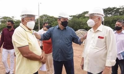 Dr. Pessoa inaugura e vistoria obras na zona Leste de Teresina