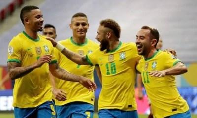 Brasil derrota a Venezuela na estreia da Copa América