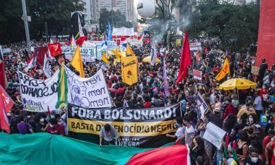 Cidades brasileiras registram neste sábado protestos contra o governo