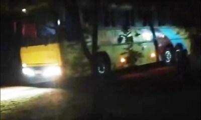 Duas pessoas morrem eletrocutadas em ônibus de turismo