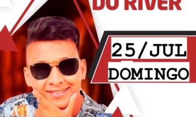 Dallyson Monteiro se apresenta neste domingo no Clube do River