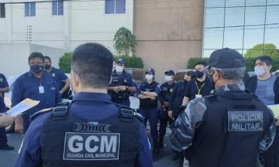 Guarda Municipal participa de operação de fiscalização em postos de combustíveis