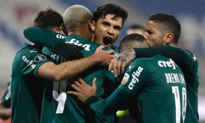 Palmeiras bate Universidad Católica no Chile