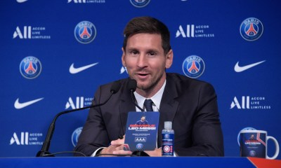 Lionel Messi é apresentado oficialmente no PSG