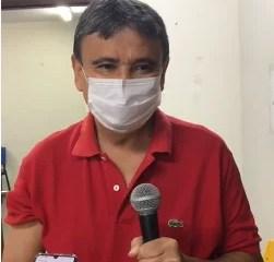 Governador Wellington Dias recebe a segunda dose da vacina contra Covid