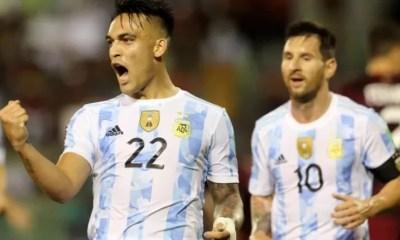 Argentina vence Venezuela por 3 a 1 nas Eliminatórias