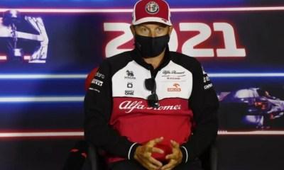 Raikkonen anuncia aposentadoria da F1 ao final de 2021