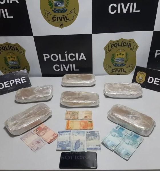 DEPRE prende mulher acusada de tráfico de drogas
