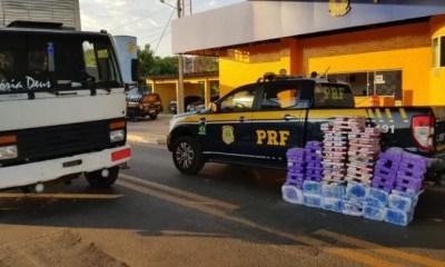 PRF apreende carga de maconha avaliada em R$ 505 mil em Floriano