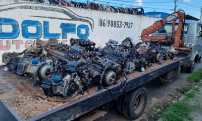 Polícia Civil investiga desmanche de veículos e cumpre mandados