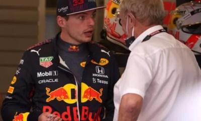Verstappen xinga Hamilton após 'pega' em treino livre: 'Estúpido, idiota'