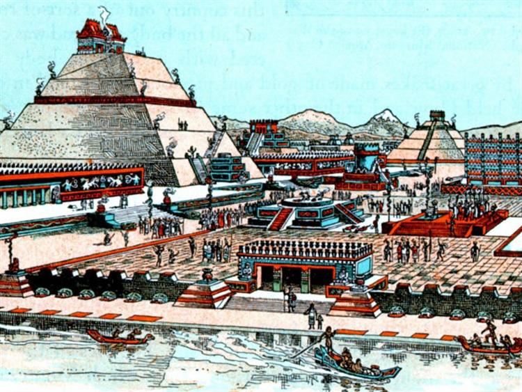 Resultado de imagen para la gran tenochtitlan