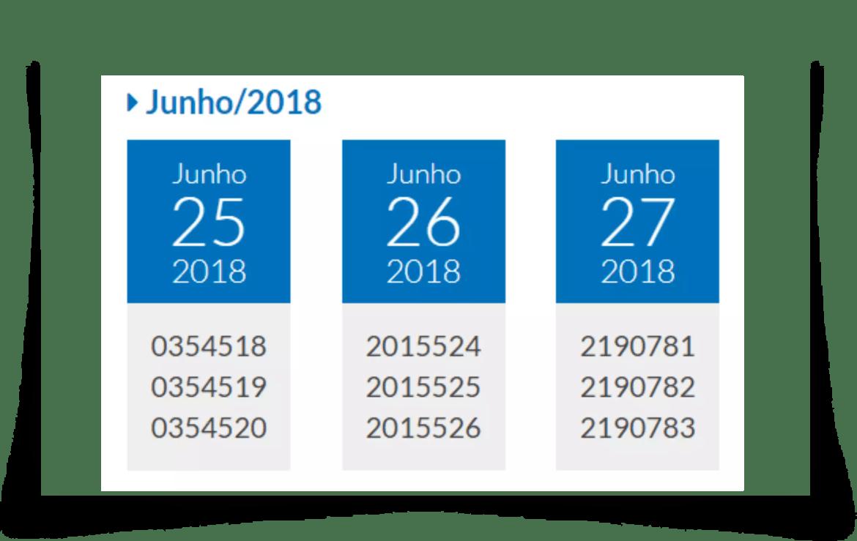 Resultado daTele Sena Dia dos Pais Prêmio Todo Dia 25 até 27 de junho
