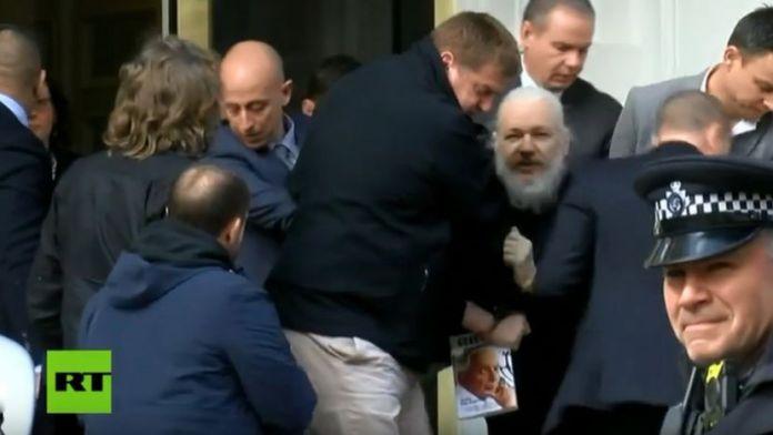 el fundador de WikiLeaks - Imagen de RT