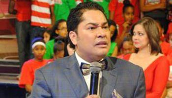 El presentador de televisión Frederick Martínez (El pachá)