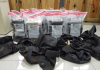 ¡Drogas! Camuflaron 101 kilos de cocaína en carga de tubos de acero, pero la DNCD lo descubrió
