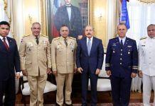 ¿Para qué el presidente Medina se reúne con ltos mandos militares?