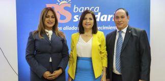 La directora general de la institución, Maira Jiménez Pérez, durante estos seis meses Banca Solidaria ha reafirmado sus políticas expansivas