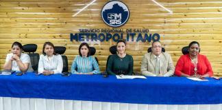 : Font-Frías junto al equipo operativo del SRSM