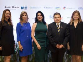Jacqueline Martínez, Jacqueline González, Amelia Reyes Mora, Fedor Vidal y Pilar González