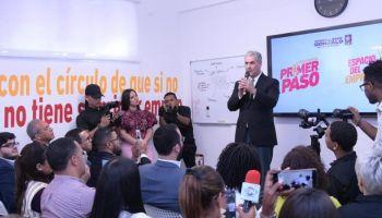 Gonzalo inaugura local para apoyar que los jóvenes consigan su primer empleo