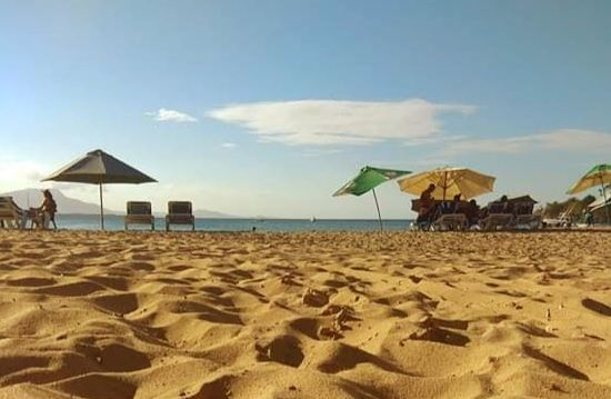 Bañistas empiezan a visitar playas de Puerto Plata, República Dominicana