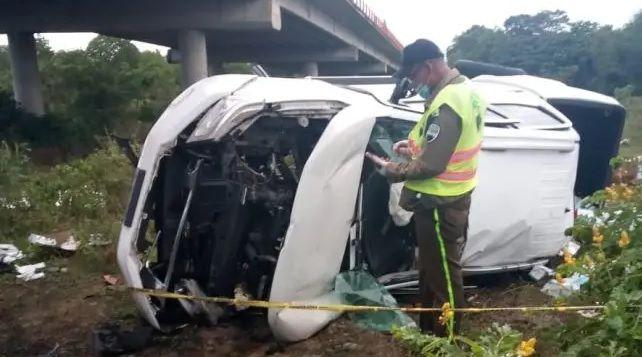 Dos muertos y dos heridos deja un accidente en avenida Circunvalación